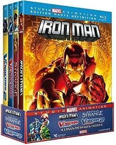 Studio Marvel Animation - Coffret 4 films [Blu-ray]