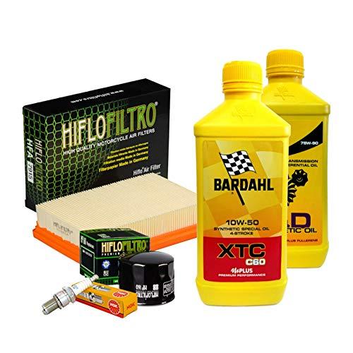 Tagliando Bardahl XTC 10W50 filtro olio aria candele cambio R 1200 GS R RS
