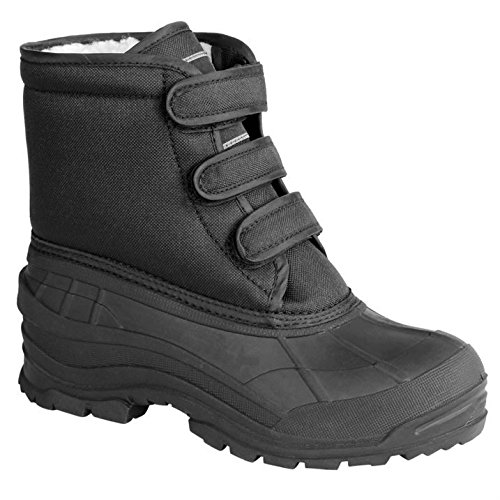 Requisite Womens Puddle Yard Boots Warm Winter Triple Hook and Loop Tape Shoes Test