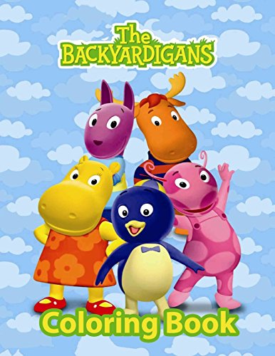 Backyardigans Coloring Book: Coloring Book for Kids and Adults with Fun, Easy, and Relaxing Coloring Pages (Coloring Books for Adults and Kids 2-4 4-8 8-12+)