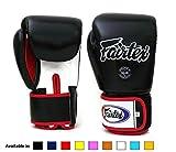 Fairtex guantes de Muay Thai BGV1color: azul negro rojo blanco...