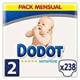 Dodot Protection Plus Sensitive Diapers Size 2 (4-8 kg) - 238 diapers