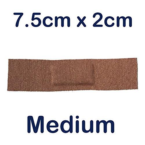 Steroplast 200x STEROFLEX echtes Flexibles Stretch Stoff Erste Hilfe Wundpflaster 7,5cm x 2cm