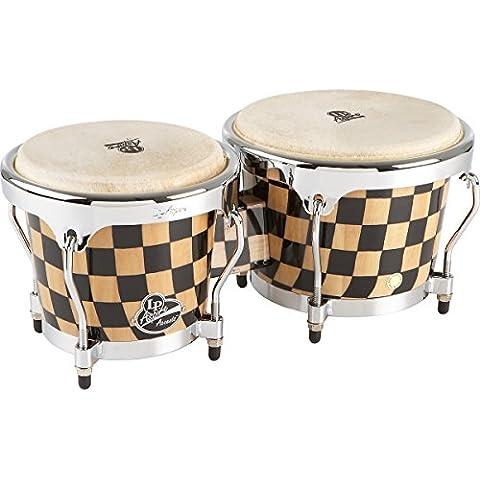 LP Latin Percussion LP810550 Aspire Accent Bongo, Scacchiere, LPA601-CHCK