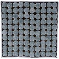 IPOTCH Reemplazos de 100x Puntas de Taco de Calidad Pieza de Reparación para Taco de Billar - 11mm