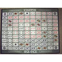 SEQUENCE Strategy Game with Folding Board, Large