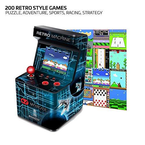Arcade Retro Machine con 200 Videouegos Vintage de 8 Bits