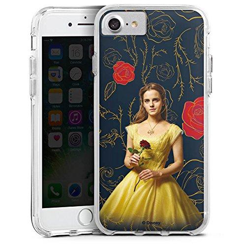 Apple iPhone 6 Bumper Hülle Bumper Case Schutzhülle Belle Die Schöne und das Biest prinzessin Bumper Case transparent