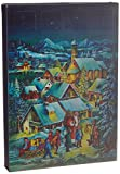 Hallingers Adventskalender Pralinenkalender Bergdorf Advents-Karton, 1er Pack (1 x 300 g)
