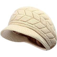 Thenice Cappello di lana con visiera Donna Invernale Hat 680a0f2c2257