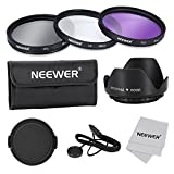 Neewer 62mm, Professionale Lenti Filtri, Accessori Kit per Canon Nikon Sony Samsung Fujifilm Pentax e altre Fotocamere DSLR con Filettatura 62mm