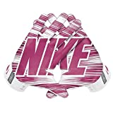 Nike Herren Vapor Jet 3.0Fußball Handschuhe, rosa/weiß