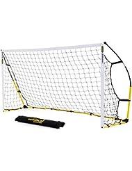 Kickster 8x 5Ft (2,4x 1,5m) Tragbares Fußball Ziel–2Pack