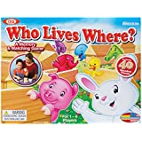 Ideal Who Lives Where Wooden Memory and Matching Game by Vintage Sports Cards