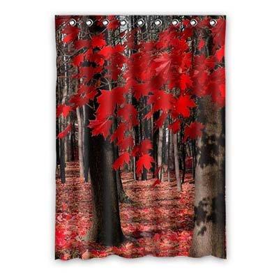Dalliy foglia d'acero le tende tenda della finestra poliestere window curtain 52