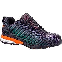Paredes sp5038ne-re39Camaleon–Zapatos de seguridad S3talla 39NEGRO