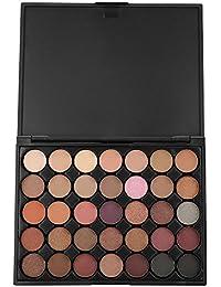35 Couleur Matte Fard À Paupières Shimmer Glitter Ombre à Paupières Poudre Palette Cosmétique Quotidienne Maquillage…