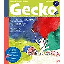 Gecko Kinderzeitschrift Band 60: Die Bilderbuch-Zeitschrift