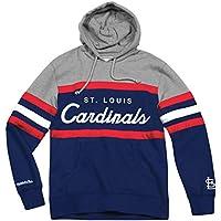 "St. Louis Cardinals Mitchell & Ness MLB ""Head Coach"" Pullover Hooded Sweatshirt"