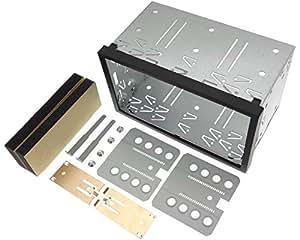 Universal Doppel DIN / 2DIN Einbauschacht aus robustem Plastik