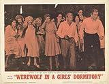 Werewolf in a Girls Dormitory Plakat Movie Poster (11 x 14 Inches - 28cm x 36cm) (1963) G