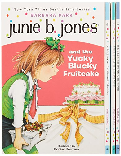 5-8: Junie B. Jones Second Boxed Set Ever!