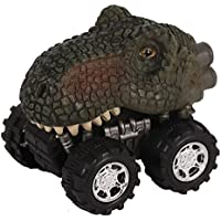 Ndier Dinosaur Car Cars Toys con Big Tire Wheel para niños de 3-14 años de Edad, niñas, Regalos creativos para niños (Tyrannosaurus) 1 PC