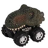 Deanyi Dinosaurier Auto Autos Spielzeug mit Big Tire Wheel für 3-14 Jahre alte Jungen Mädchen Kreative Geschenke für Kinder (Tyrannosaurus) 1 PC