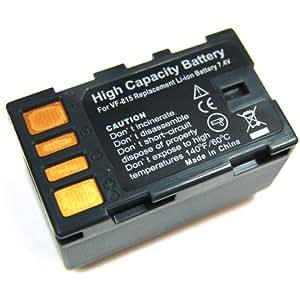 Troy Batterie Li Ion pour JVC BN VF815 pour JVC GR D720 D720EX D725 D740 D740EX D745 D750 D760 D770 D770EX D771 D775 D790 D796 GZ MG130 MG135 MG150 MG555 MG575 HD3 HD5 HD6 HD7 HM400 HM1
