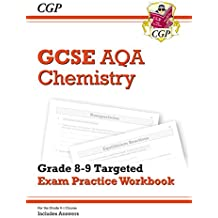 New GCSE Chemistry AQA Grade 8-9 Targeted Exam Practice Workbook (includes Answers) (CGP GCSE Chemistry 9-1 Revision)