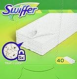 Swiffer - Recharge de lingettes sèches pour balai - 40 lingettes