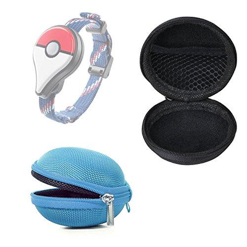 Preisvergleich Produktbild Bestdeal® Tragbare Mini Zipper Schutztasche Hülle Tasche für Pokémon GO Plus (Himmelblau)