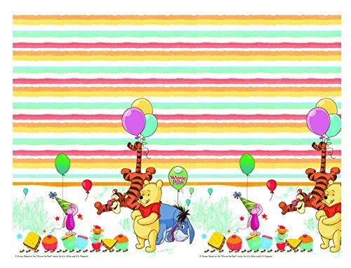Party Supplies Winnie Pooh The (Kunststoff Disney Winnie the Pooh Tischdecke, 1,8m x)