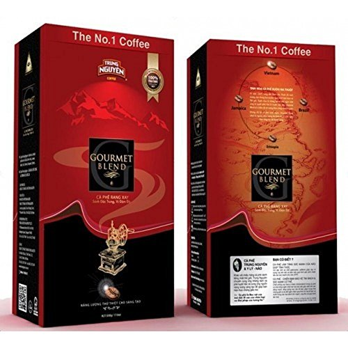 2 x 500g Trung Nguyên Coffee Gourmet Blend gemahlen (Nguyen Kaffee)