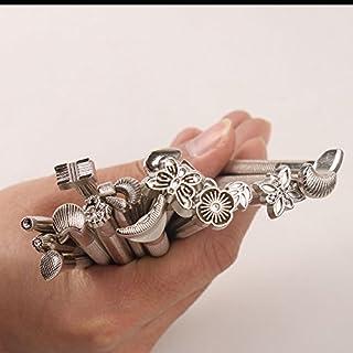 Airkoul Leder Stanzen DIY Stanzen Werkzeug Leather Working Saddle Making Tools Carving Hand