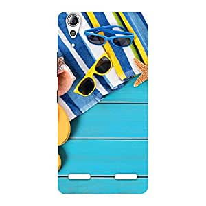 Cool Beach Design Back Case Cover for Lenovo A6000