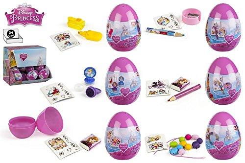 Colorbaby, 76733, Pack 24 Eier überraschen Disney Prinzessinnen.