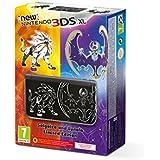 New Nintendo 3DS - Consola XL, Color Negro - Edición Pokémon Sol / Luna (No Incluye el juego)