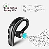Mpow® Bluetooth Headset [Business Stil] Wireless Headset Bluetooth Ohrhörer Freisprechen mit Clear Voice Capture Technologie Bluetooth In-Ear Headset für iPhone Samsung Huawei HTC, usw. (Bluetooth 4.1, 280 Stunden Standby-Zeit, Schwarz) - 4