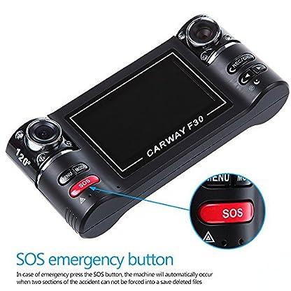 GOFORJUMP-Dual-Lens-Auto-Kamera-Fahrzeug-Zwei-Objektiv-Video-Recorder-F600-Schwarz-Einzigartiges-und-intimes-Design