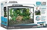 Marina Kit de Acuario con Iluminación LED 10G, 38...