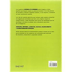 Entrena Tu Cerebro 1 (Castellano - Adultos - Libros De Psicología Y Maternidad - Cuadernos De Entrenamiento Cerebral)
