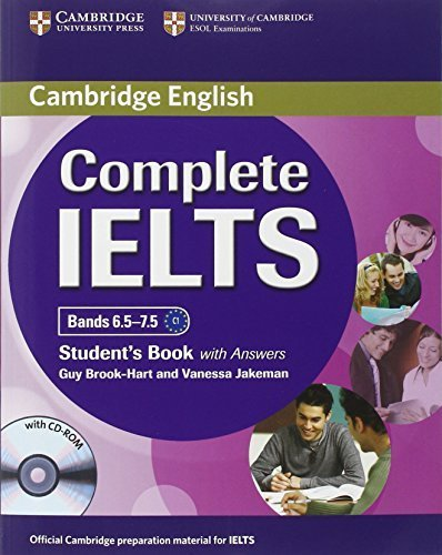 Complete IELTS Bands 6.5-7.5 Student's Pack (Student's Book with Answers with CD-ROM and Class Audio CDs (2)) Pap/Cdr/Co edition by Brook-Hart, Guy, Jakeman, Vanessa (2013) Paperback
