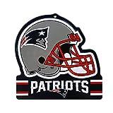 Party Animal NFL NEW ENGLAND PATRIOTS Metall Helm Schild