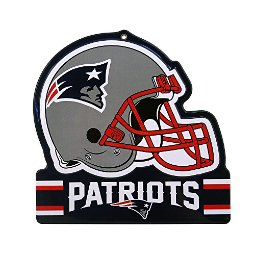 Party Animal NFL NEW ENGLAND PATRIOTS Metall Helm Schild (Tom Brady Helm)