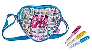 Simba 106374263coloreable Swap Heart Bag Funda para Pintar