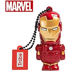 Avengers Chiavetta USB 32 GB Iron Man - Memoria Flash Drive 2.0 Originale Marvel, Tribe FD016704
