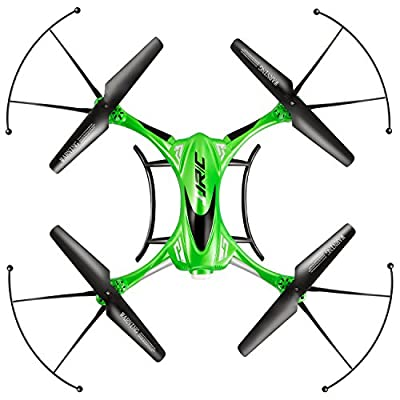 TONOR 2.4 GHZ 4CH 6-AXIS RC Hexacopter Gyro Drone with 360 Rotating Headless Mode Altitude Hold Mode Green by Tonor
