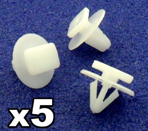 5 x Clips Agrafe Plastique Passages de Roues / Garnissages - Vauxhall Opel Corsa Combo - 122920 - LIVRAISON GRATUITE!