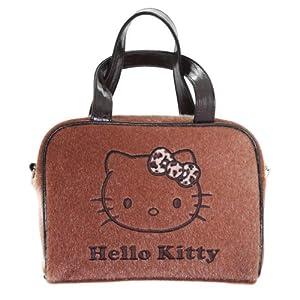 Hello Kitty – Bolsa de Aseo, diseño de Lazo de Leopardo